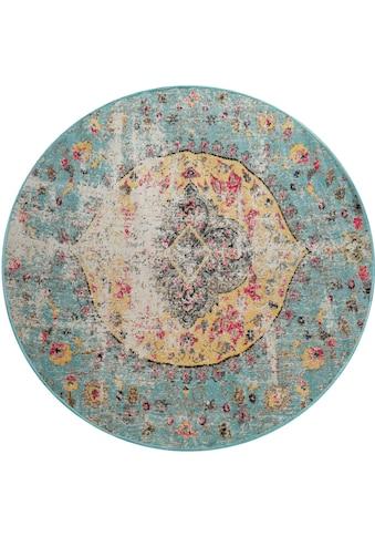 Home affaire Teppich »Artigova«, rund, 11 mm Höhe, In- und Outdoor geeignet, Wohnzimmer kaufen