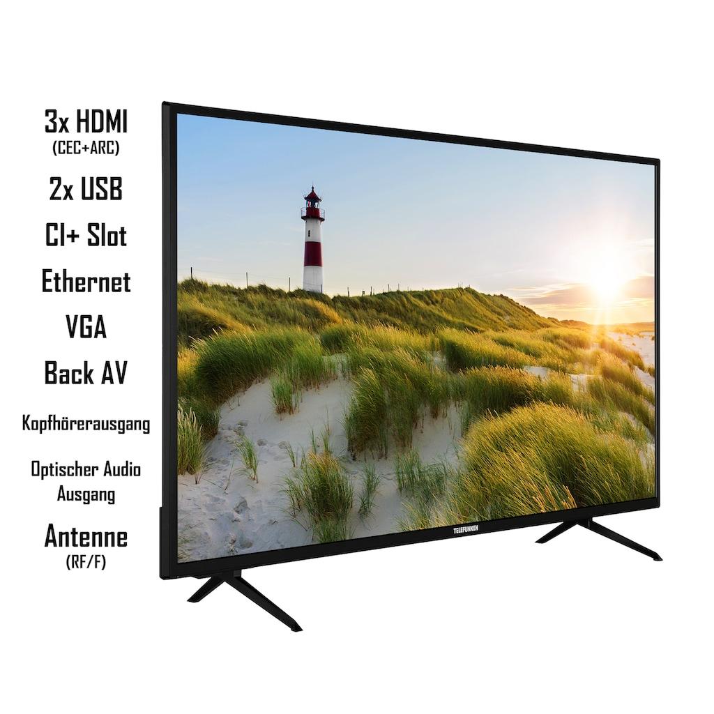 Telefunken LED-Fernseher »XF42K550«, 106 cm/42 Zoll, Full HD, Smart-TV