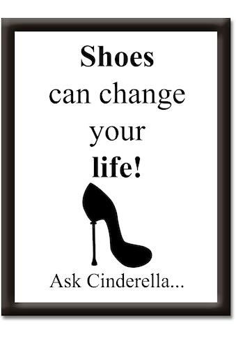 Artland Wandbild »Schuhe« kaufen