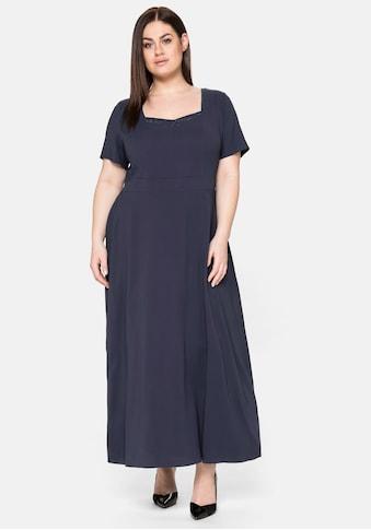 Sheego Abendkleid, mit Schmucksteinen kaufen