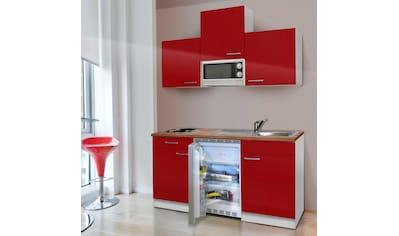 RESPEKTA Küchenzeile »KB150WGMI«, mit E-Geräten, Gesamtbreite 150 cm kaufen