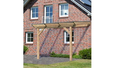 KARIBU Terrassendach »Premium Gr. A«, Breite 310 cm, in verschiedenen Tiefen, gerade Kopfbänder kaufen