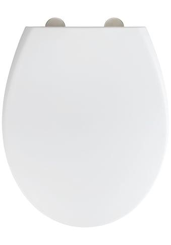 WENKO WC-Sitz »Ikaria Weiß matt«, aus Duroplast, mit Absenkautomatik kaufen