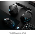 Logitech G Gaming-Headset »G935 7.1 Surround Sound LIGHTSYNC Gaming Headset«, WLAN (WiFi)