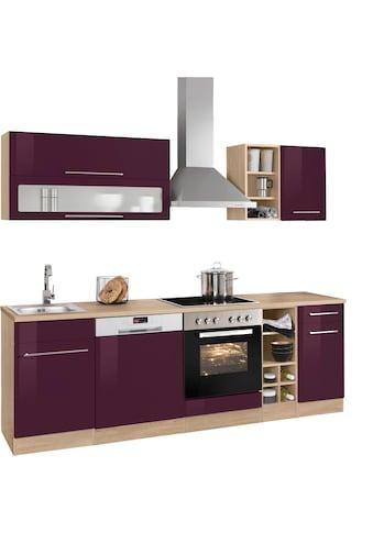 HELD MÖBEL Küchenzeile »Eton«, ohne E-Geräte, Breite 240 cm kaufen