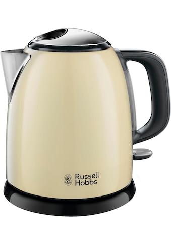 RUSSELL HOBBS Wasserkocher, Colours plus cream 24994 - 70, 1 Liter, 2400 Watt kaufen