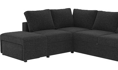 Places of Style Big-Sofa »Jozzis«, mit manuell verstellbaren Funktionen, integrierte... kaufen