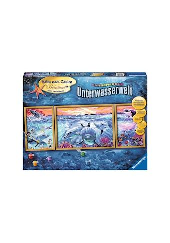 Ravensburger Malen nach Zahlen »Farbenfrohe Unterwasserwelt«, Made in Europe kaufen