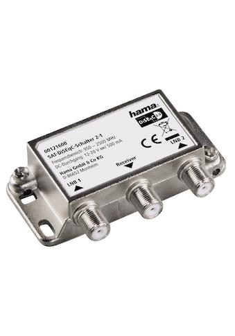 Hama SAT-DiSEqC-Schalter 2-1 kaufen