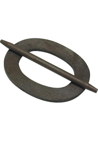 Dekoklammer »Dekoring Oval, Holz«, GARDINIA kaufen