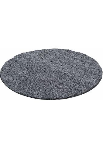 Hochflor - Teppich, »Dream Shaggy«, Ayyildiz, rund, Höhe 50 mm, maschinell gewebt kaufen