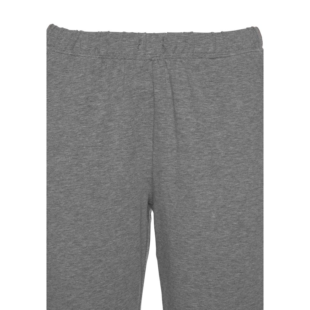s.Oliver Pyjama, mit seitlichen Streifen am Bein