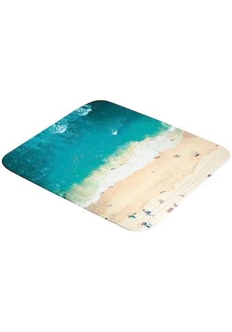 Kleine Wolke Duscheinlage »Waikiki«, mit Strand-Motiv, 55x55 cm kaufen