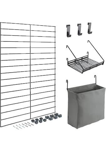 Metaltex Wandregal »Mural line«, (Set, 4 St.) kaufen