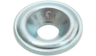 RAMSES Senkscheibe , für Holzbauschrauben 8 mm Stahl blau verzinkt 50 Stück kaufen