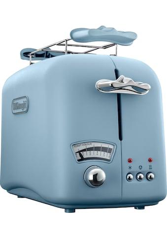De'Longhi Toaster »Argento Flora CTO21.AZ«, 800 Watt kaufen