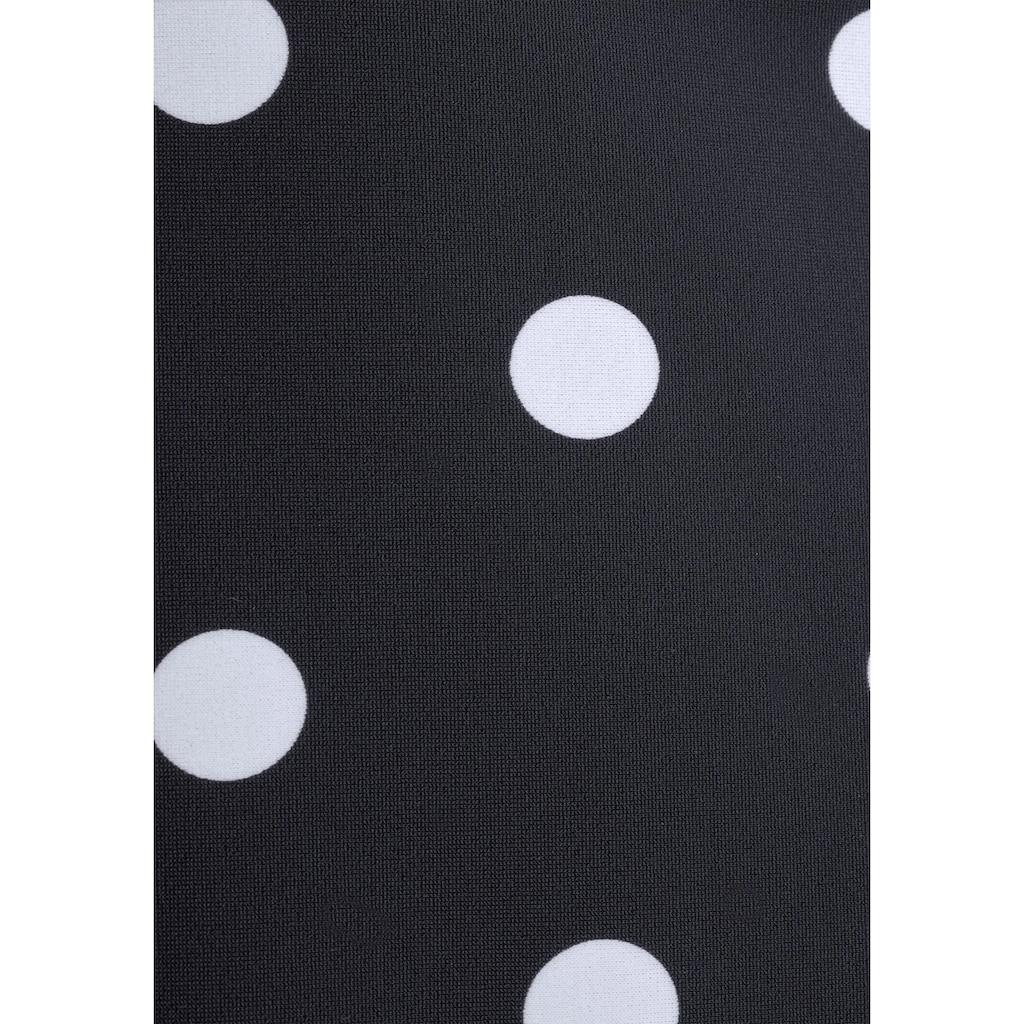 LASCANA Bade-Shirt, mit integrierten Softcups