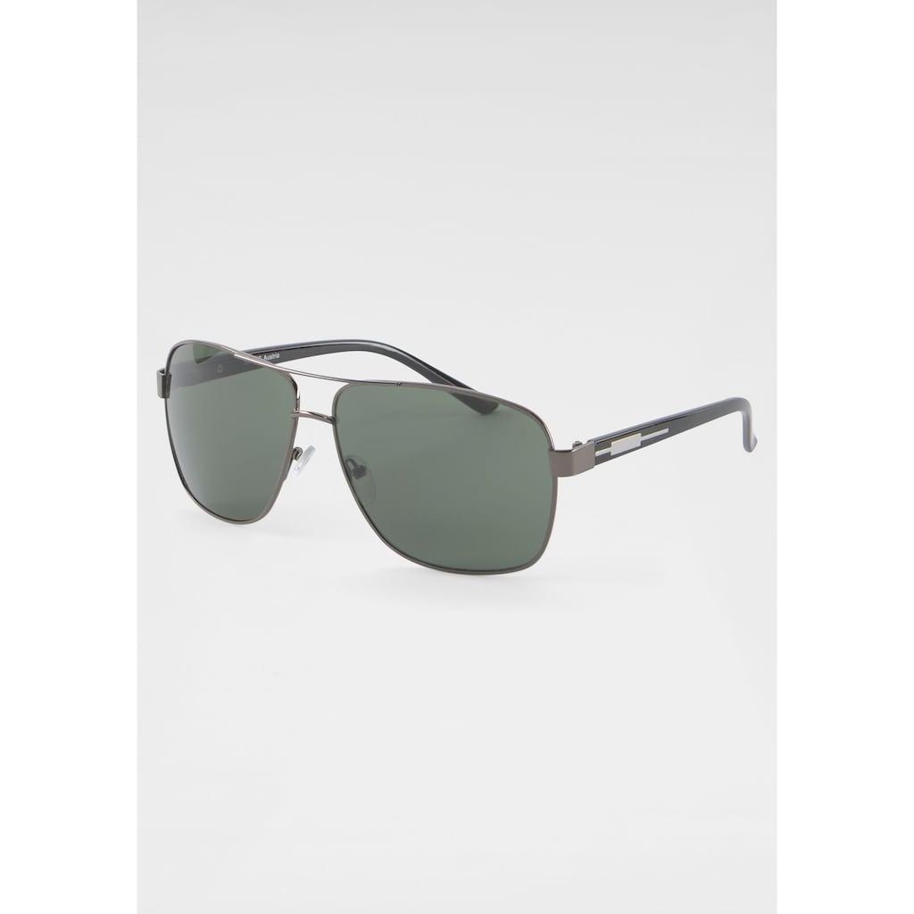J.Jayz Sonnenbrille, mit Vollrand aus Metall
