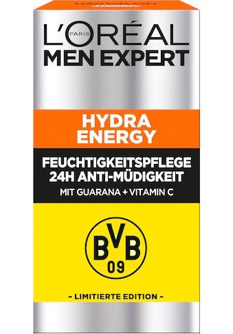 L'ORÉAL PARIS MEN EXPERT Feuchtigkeitscreme »Hydra Energy 24H Anti-Müdigkeit BVB Edition« kaufen
