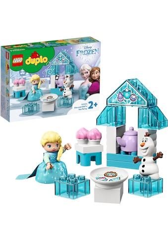 LEGO® Konstruktionsspielsteine »Elsas und Olafs Eis-Café (10920), LEGO® DUPLO® Disney... kaufen