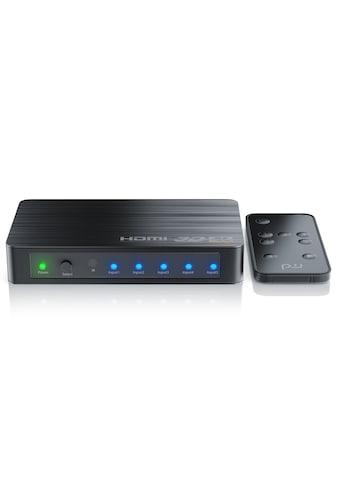 Primewire Ultra HD 4k 5-Port HDMI Umschalter inkl. Fernbedienung »5x HDMI IN / 1x HDMI... kaufen