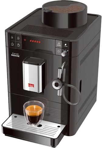 Melitta Kaffeevollautomat Passione F53/0 - 102 schwarz, 1,2l Tank, Kegelmahlwerk kaufen