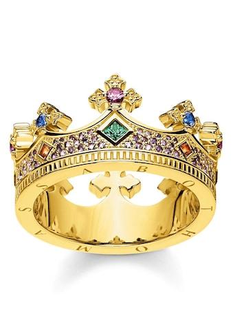 THOMAS SABO Fingerring »Krone Gold, TR2265 - 973 - 7 - 52, 54, 56, 58, 60« kaufen