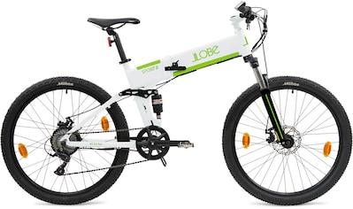 LLobe E - Bike »FML - 810 weiß«, 9 Gang Shimano Kettenschaltung, Heckmotor 250 W kaufen