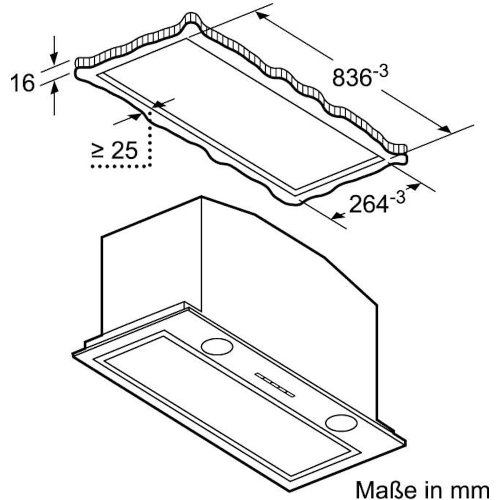 NEFF Deckenhaube »D58ML66N1«, Serie N 70, 86 cm breit