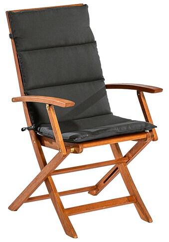 MERXX Sitzkissen »Comodoro«, Hochlehner Polsterauflage mit Steppung kaufen