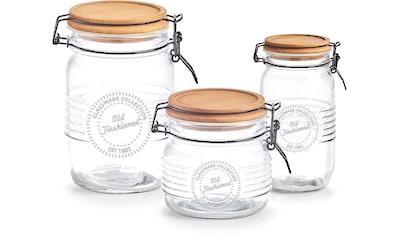 Zeller Present Vorratsglas, (Set, 3 tlg.) kaufen