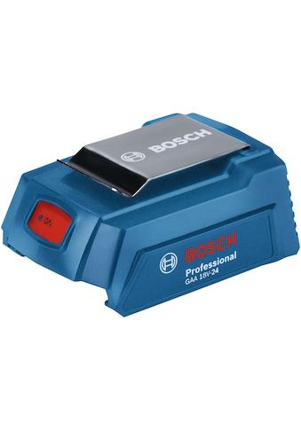 BOSCH PROFESSIONAL Adapter »GAA 18V - 24 Professional (USB - Adapter)«, 18 V kaufen