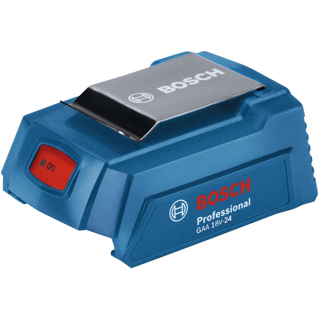 Bosch Professional Adapter »GAA 18V-24 Professional (USB-Adapter)«, 9,80 cm
