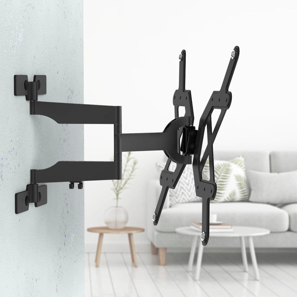 Hama TV Wandhalter schwenkbar Fernsehhalterung bis 165cm/65 Zoll