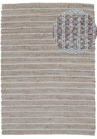 carpetfine Teppich »Lara«, rechteckig, 6 mm Höhe, Wendeteppich aus Jute/Baumwolle,... kaufen