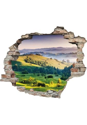 queence Wandtattoo »Hügel« (1 Stück) kaufen