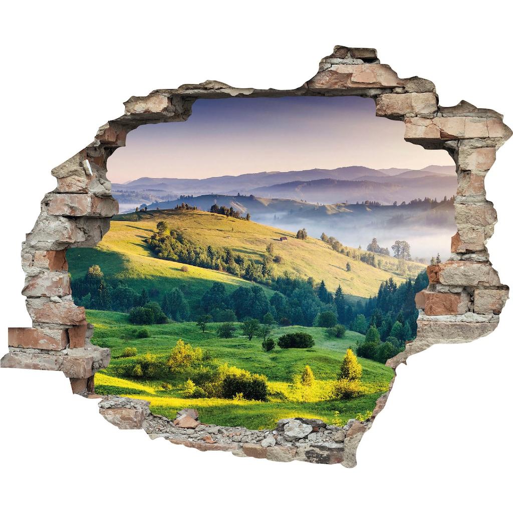 queence Wandtattoo »Hügel« (1 Stück)