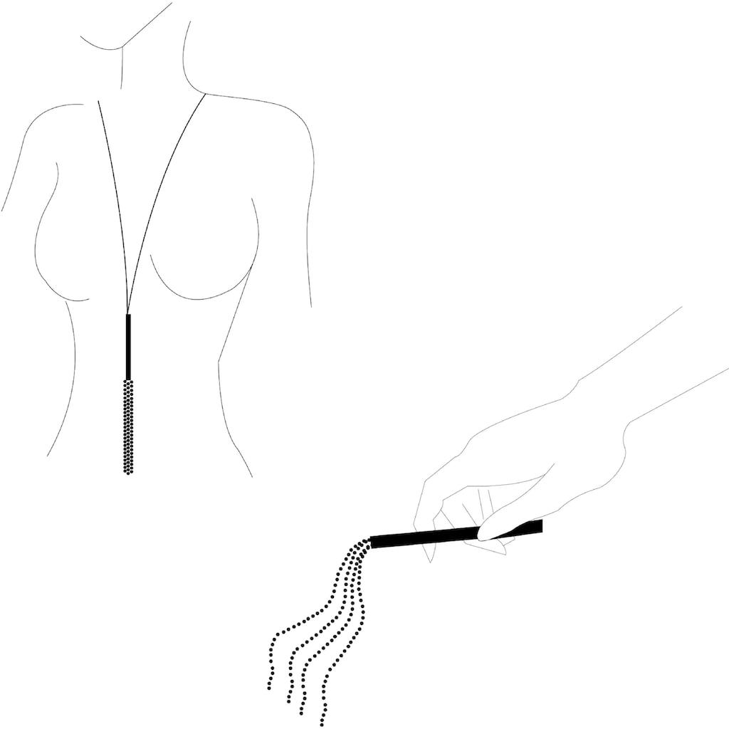Bijoux Indiscrets Erotik-Halsband »Magnifique Necklace & Whip«, mit abnehmbarer Peitsche