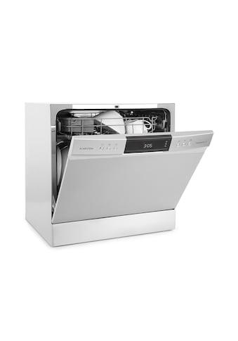 Klarstein Tischgeschirrspüler Geschirrspülmaschine Spülmaschine »Amazonia 8 Neo« kaufen