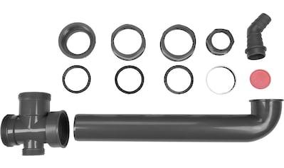CORNAT Ablaufverbindung »Rezyklat«, Verbindungslänge: 300 mm, aus recyceltem Kunststoff kaufen