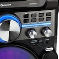 Auna Box 360 Party BT System 2 Mikrofone HDMI BT LED USB Rollen