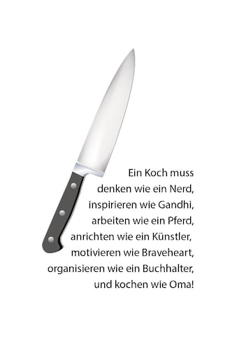 queence Wanddekoobjekt »Messer« kaufen