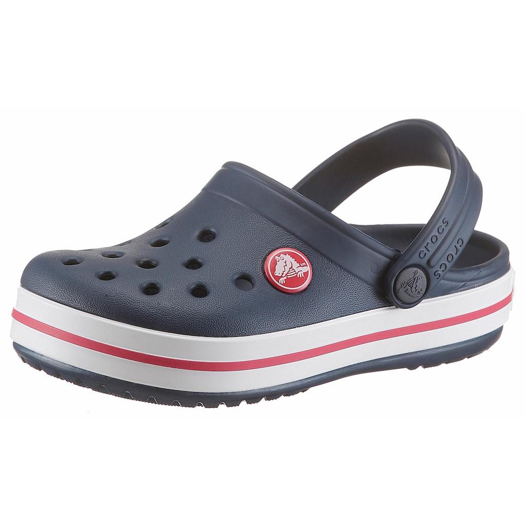 Crocs Clog »Crocband Clog«, mit kontrastfarbenen Akzenten