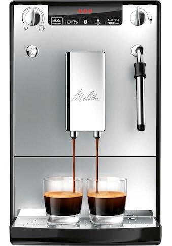 Melitta Kaffeevollautomat »Solo & Milk silber/schwarz E953-102« kaufen