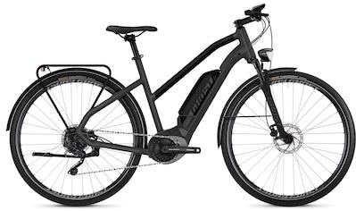 Ghost E - Bike »HYBRIDE Square Trekking B3.8 AL W«, 9 Gang Shimano XT RD - M772 9 - S Shadow Profile Schaltwerk kaufen