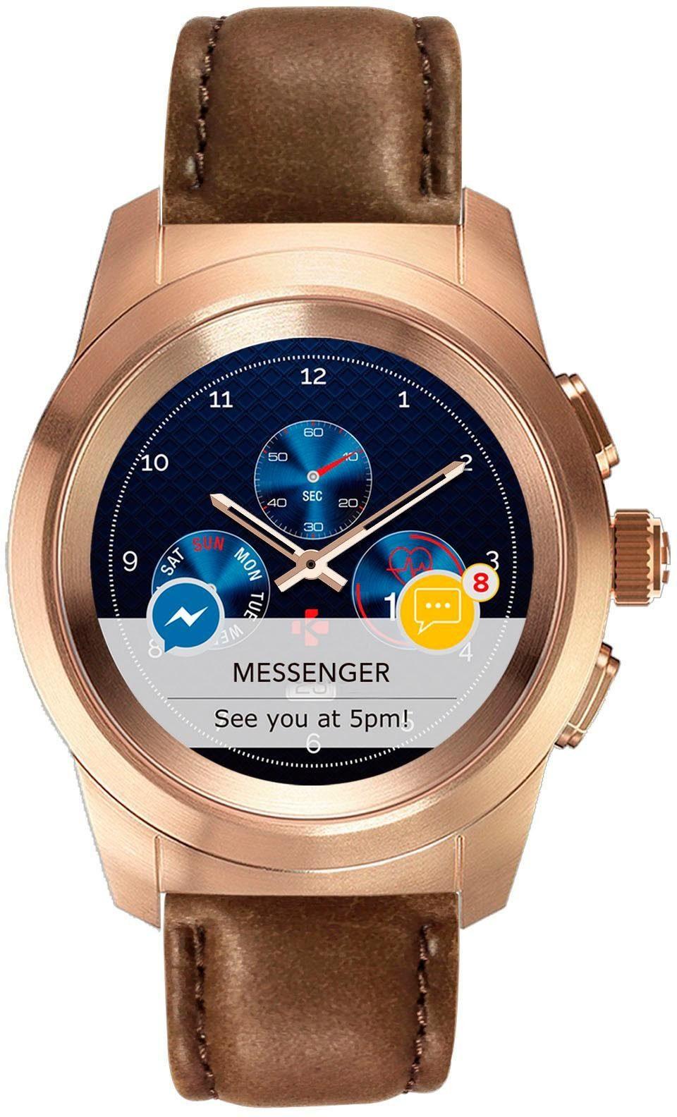 MYKRONOZ ZeTime Regular Premium Smartwatch (3,09 cm / 1, 22 Zoll) | Uhren > Smartwatches | Rosa | MYKRONOZ