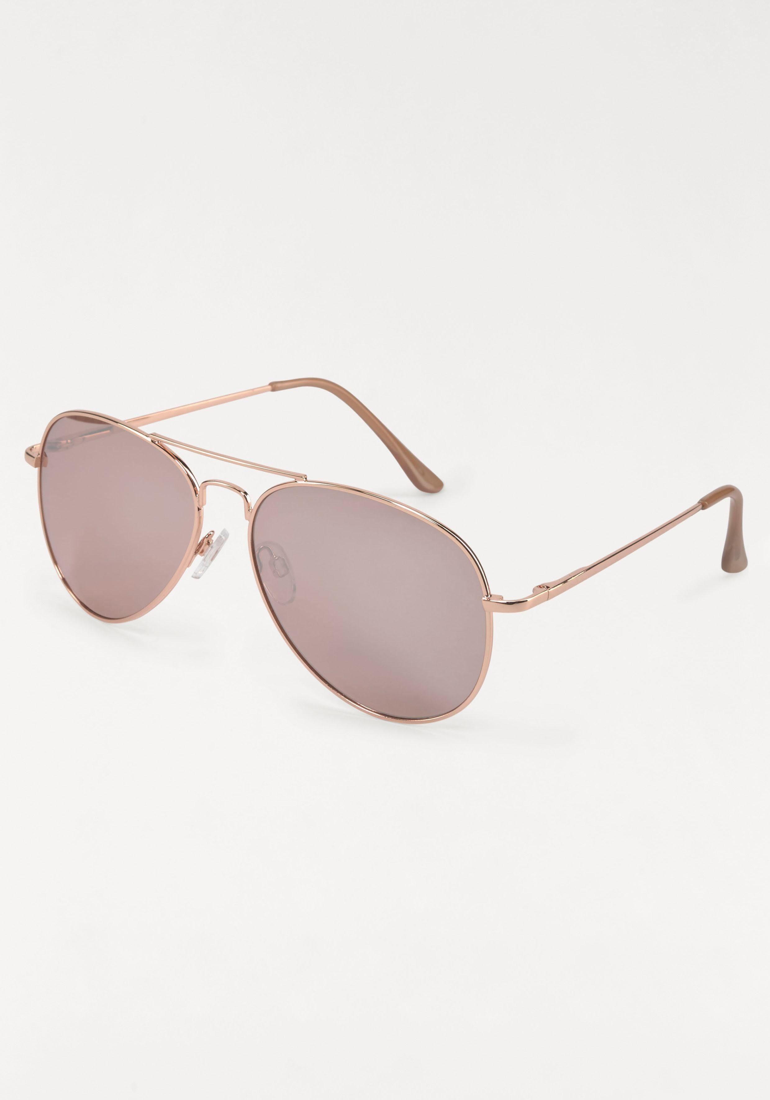 Sonnenbrille | Accessoires > Sonnenbrillen > Sonstige Sonnenbrillen | Rosa | QUELLE