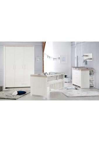roba® Babyzimmer-Komplettset »Lucy«, (Set, 3 St.), Made in Europe; mit Kinderbett,... kaufen