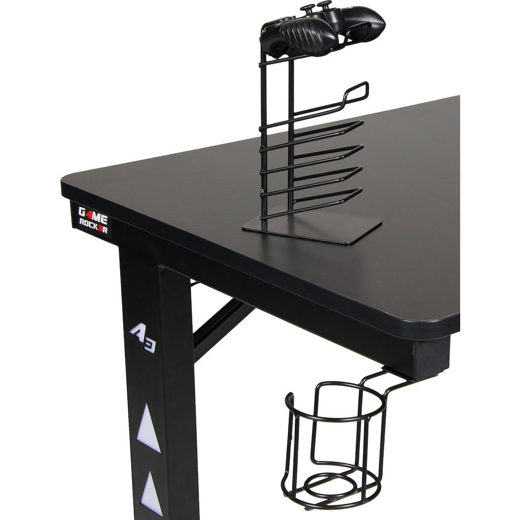 Duo Collection Controller-Halterung »Game-Rocker Set Cupholder & Controllerholder«, (Bestehend aus Cupholder & Controllerholder)