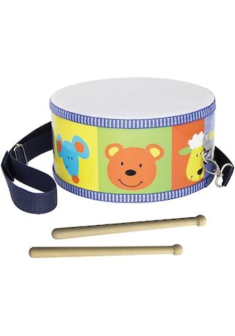 Clifton Spielzeug-Musikinstrument »Kindertrommel mit Motiv«, mit Kinderlieder CD kaufen